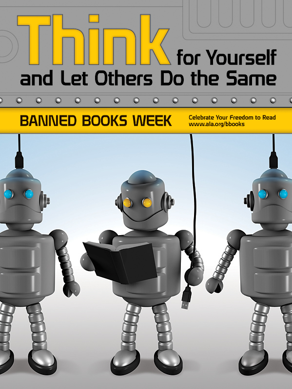 ALA Banned Book Week Poster 2010