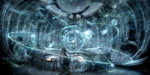 Hologram image from the film Prometheus.
