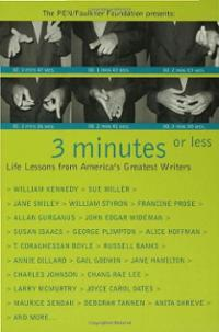 3-minutes-or-less-life-lessons-from-americas-pen-faulkner-foundation-paperback-cover-art