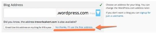 Free address