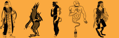 five types of jinn