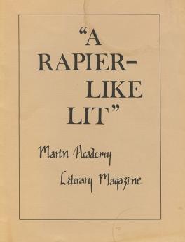 MA Literary Magazine, 1980-1981