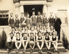 Basketball team, ca. 1925