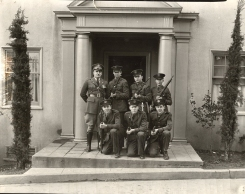 Boys with rifles, ca. 1925.